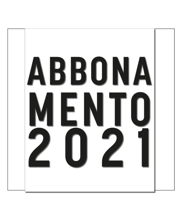Abbonamento 2021